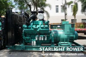 approvazione di generazione elettrica dell'insieme Ce/ISO del generatore di 700kw 875kVA Cummins di potere diesel di perfezione