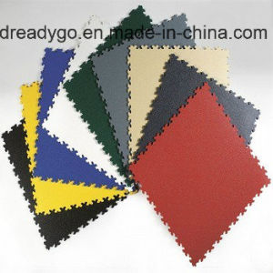 Tegel van de Vloer van pvc van de Tegels van de Vloer van de Tegel/van de Garage van de Vloer van pvc van het Bouwmateriaal de Vinyl in de BinnenDecoratie van het Huis