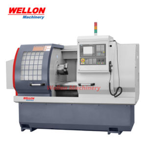 máquina de torno CNC de cama plana (CK6140 / CK6150 / CK6160 CNC torno giratorio Precio).
