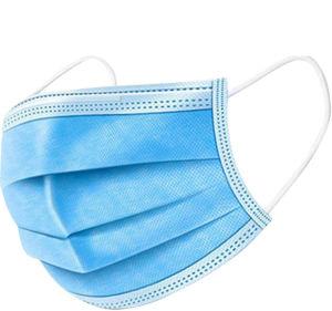 Font face quotidiennement à couvrir Respirator-Three Couches jetables de la bouche, masque jetable pour Unisex Outdoor, masque de protection anti poussière