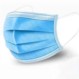 3 plis Masque facial médicaux jetables