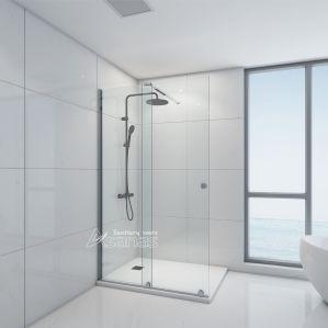 Receptáculo de ducha presenciales con puerta corredera como3704-120
