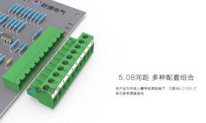 Plug-in Type de connecteur de bloc de jonction avec pas de 5,08 mm