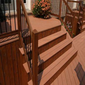 Precio barato WPC Pisos de Madera pisos de madera de ingeniería WPC techado