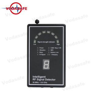 Rivelatore Pocket del segnale di rf, sistema di allarme, telefono delle cellule di GSM, rete delle cellule 3G 2100, + macchina fotografica nascosta WiFi del cercatore dell'obiettivo + dell'esperto 3G 2100 Detectionidentify