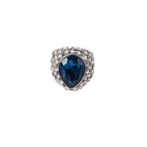 Venda por grosso Jóias de anel com pedras Rhinestones Olho de Gato
