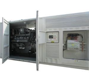 Тип контейнера Perkins 1200KW дизельных генераторных установках