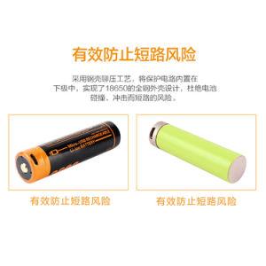 Nachladbares Lithium-Ion/Plastik-Batterie für LED-Lichter: Elektrisches Hilfsmittel (18650 2600mAh)