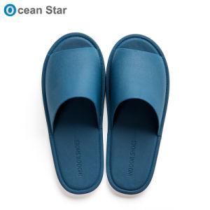 Высокое качество для использования внутри помещений красочные тапочки мужские Логотип обычная слайд сандалии