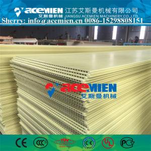 El panel de pared de plástico de PVC de la esquina del techo de la línea de producción de extrusión
