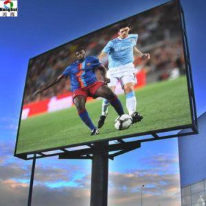 Outdoor IP67 P6 Affichage LED signe pour la publicité de l'écran vidéo