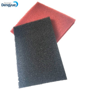 Gomma piuma reticolare riciclabile del filtro dalla polvere di purificazione di acqua delle cellule aperte calde di vendita
