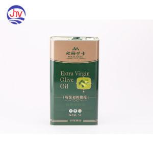 Recipiente de metal Embalagens para óleo comestível Latas de Caixas de armazenamento