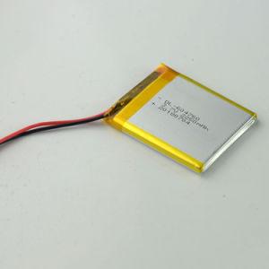 Перезаряжаемый литий 3,7 малых батарей для видео