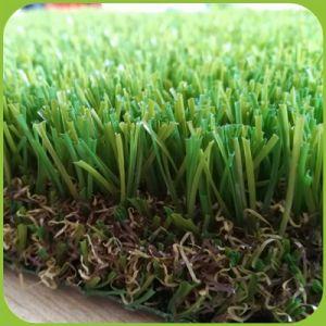 Im Freienspielplatz-synthetischer Rasen-Teppich, künstlichen Rasen billig landschaftlich verschönernd