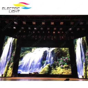 屋内イベントまたはコンサートの作業か屋外P4.8ビデオ媒体レンタルスクリーンのLED表示