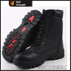 Rubber Outsole (SN5270)를 가진 Sanneng Shoes Basic Safety Army Boot