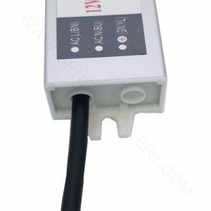 10W 12Vの切換えのモード防水屋外IP68の単一の出力超細いLED軽い電源