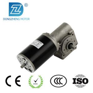 Pm DC Motor eléctrico de engranaje helicoidal utilizada en la apertura de puerta