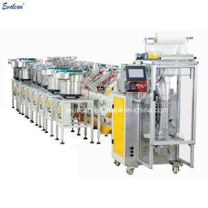 Automático de alta precisão pequenas peças metálicas, máquina de embalagem de acessórios de hardware