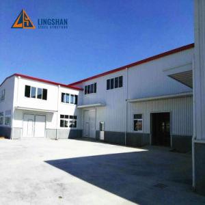 ISOの2階建ての軽い鋼鉄構造建物デザイン