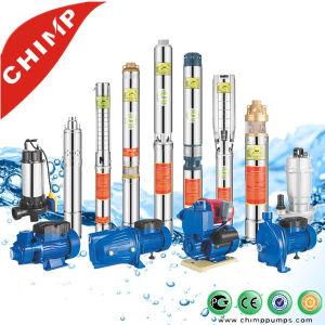 Qjd à plusieurs stades de la pompe à eau submersibles centrifuge pour puits profond