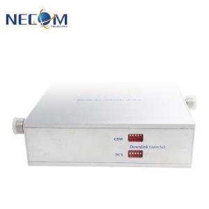 GSM850&PCS1900MHz de Dubbele Spanningsverhoger van het Signaal van de Band, de Repeater van het Signaal van Internet, de Draadloze Repeater van het Signaal
