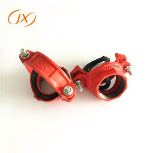 3 Adaptador de tubería mecánica acanalada racores con precio de fábrica en T
