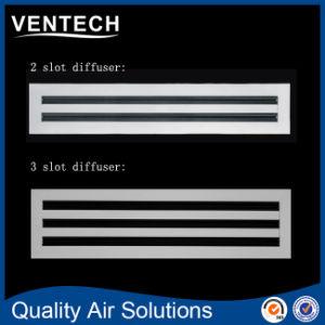 Aluminium HVAC-justierbarer Rückholluft-Gitter-linearer Schlitz-Diffuser (Zerstäuber)