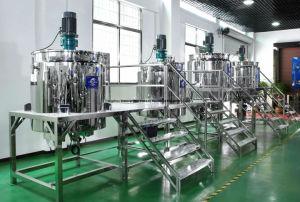 Macchina liquida del miscelatore dello sciampo dell'acciaio inossidabile per la linea di produzione cosmetica