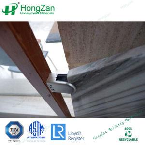 Rotaie di alluminio del comitato di pietra del favo per l'inferriata della scala