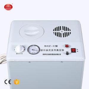 Basse pression de réacteur en verre de laboratoire rotatif circulant de l'eau de la pompe à vide