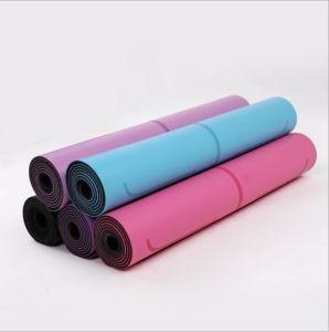 Het in het groot Materiaal van de Mat van de Yoga rolt Mat van de Yoga van de Douane de Organische