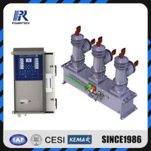 38kv vácuo de alta tensão disjuntor controlador inteligente