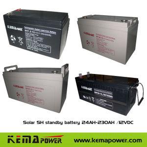 4.5Ah-230ah AGM recarregável Bateria livre de manutenção para o Sistema Solar