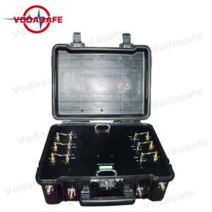 Agarrotamiento de la puerta de seguridad de la puerta de portátiles, bombas Multi-Band Jammer de RF, bloqueo de todos los teléfonos móviles 3G/2G (GSM/CDMA/DCS) /4glte/Wi-Fi2.4G/GPSL1