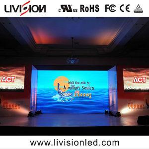 高品質のイベントのためにスクリーンをか結婚披露宴または段階広告する屋内イベントの使用料LEDのビデオ・ディスプレイP3.9/4.8 LED