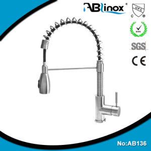 Trekt het Enige Handvat Upc van het Roestvrij staal van Ablinox de Tapkraan van de Keuken terug