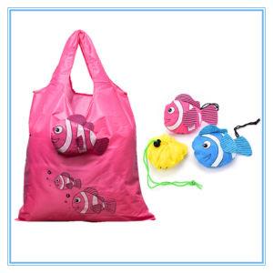 DTH0003 Bolsa de compras de plegado de forma de pez