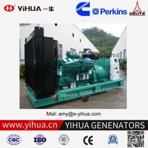diesel van de Macht van 500kVA 400kw Cummins Elektrische Generator met Alternator Stamford