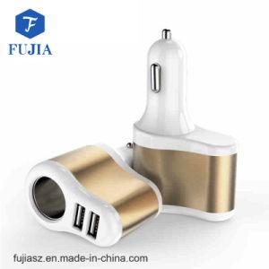 2018 alta calidad de 2 puerto USB Cargador de coche con el encendedor de cigarrillos