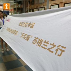 Custom ткань печать баннера (TJ-FB005)