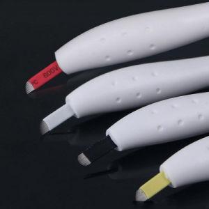 Praviteのラベルの眉毛の入れ墨のパーマの構成のための18uの使い捨て可能なMicrobladingのペン