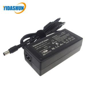 des Abwechslung 45W Wechselstrom-Adapter-15V 3A schwarzer Rückreise-Kopf Laptop-der Aufladeeinheits-6.3*3.0 für Toshiba (PA24500)