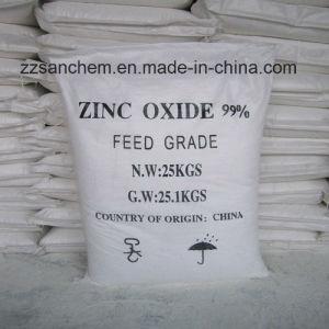 Wit Oxyde 99.9%, 99.7%, 99.5%, de Additieven van het Zink van het Poeder van 99%