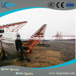 Transportador de correa de alta eficiencia para la Piedra de la línea de producción de arena Rock