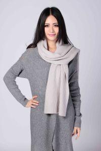 Senhoras' moda lenço de caxemira na cor pura (1500008080)