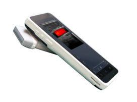 Meditech C-Scan Ecógrafo mano &ISO aprobado Ce viene con sonda de ultrasonido