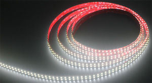 DC12V/24V 144 LEDs/m de fileira dupla SMD LED RGBW5050 Luz de faixa