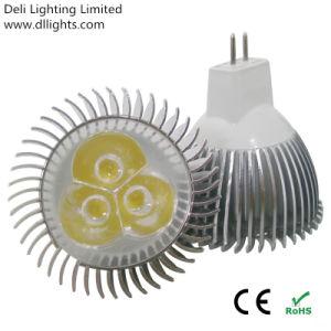 MR16 DC12V/24V 3W LED Spotlight mit CER und RoHS